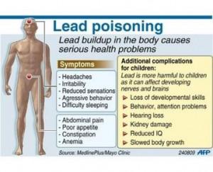 Dampak Keracunan Pb pada Kesehatan