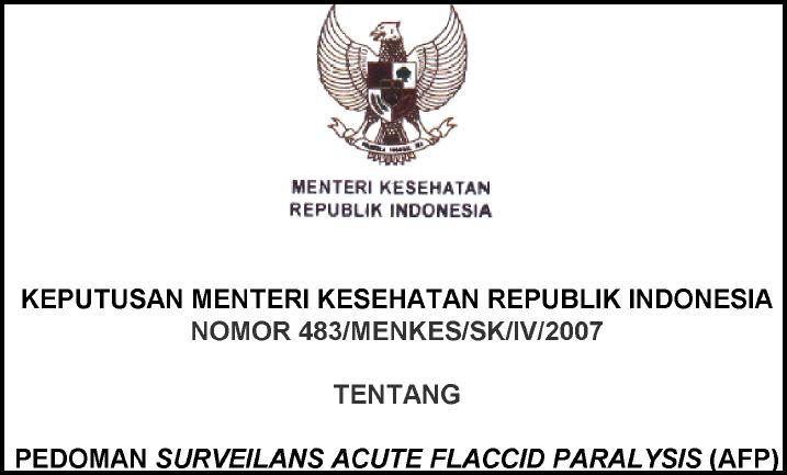 Pedoman Surveilans AFP