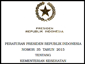 Download Perpres 35 Tahun 2015